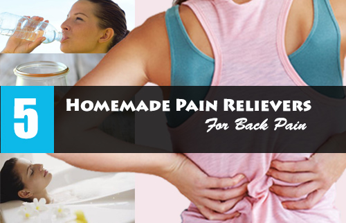 Homemade Pain Relievers